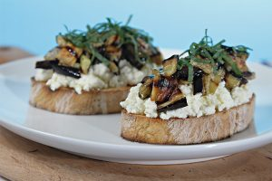 Bruschetta-with-grilled-eggplant_TheTubbyOlive